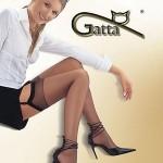 Dámské punčochy k podvazkovému pásu Gatta Sally lycra 15 den