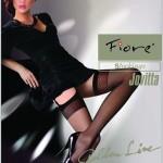 Punčochy k podvazkovému pásu Fiore Jovitta 20 den