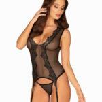 Elegantní korzet Meshlove corset – Obsessive