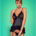 Korzet Blackbella corset – Obsessive