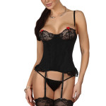 Dámský korzet Shirley corset black