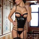 Erotický korzet Angelina corset black