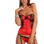 Erotický korzet Patricia red Beauty Night fashion