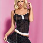 Korzet Obsessive Servanta corset + skirt
