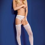 Podvazkový pás Garter stockings S500 – Obsessive